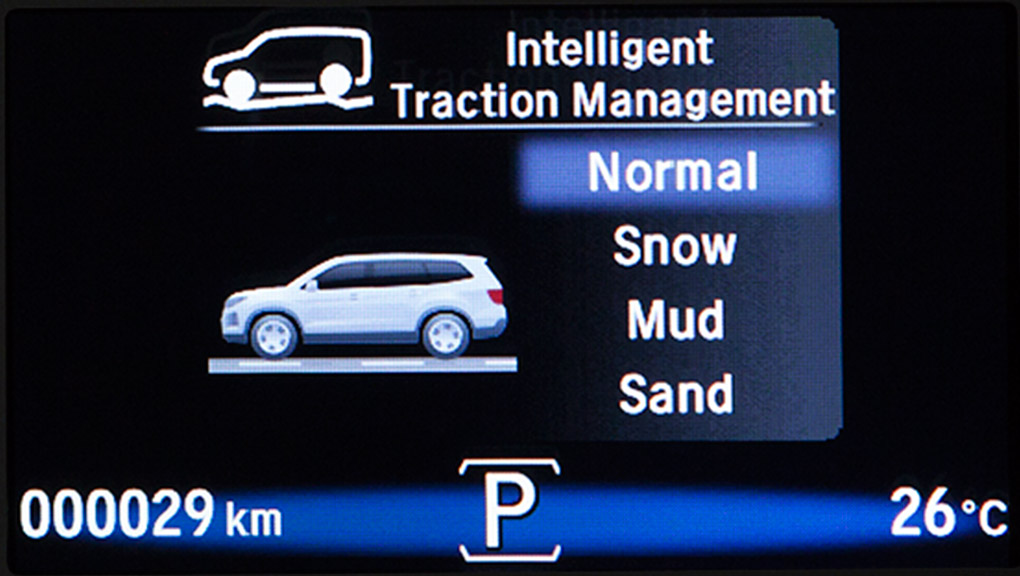 A look at the traction control system in the 2019 Honda Pilot.