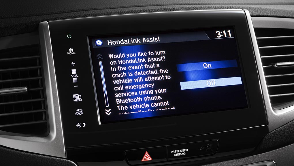Use HondaLink to sync up your Android or Apple device to your 2019 Honda Pilot