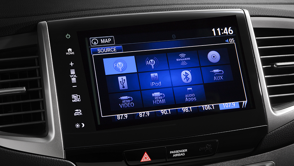 Stream music or sync up your smartphone to the 2019 Honda Pilot