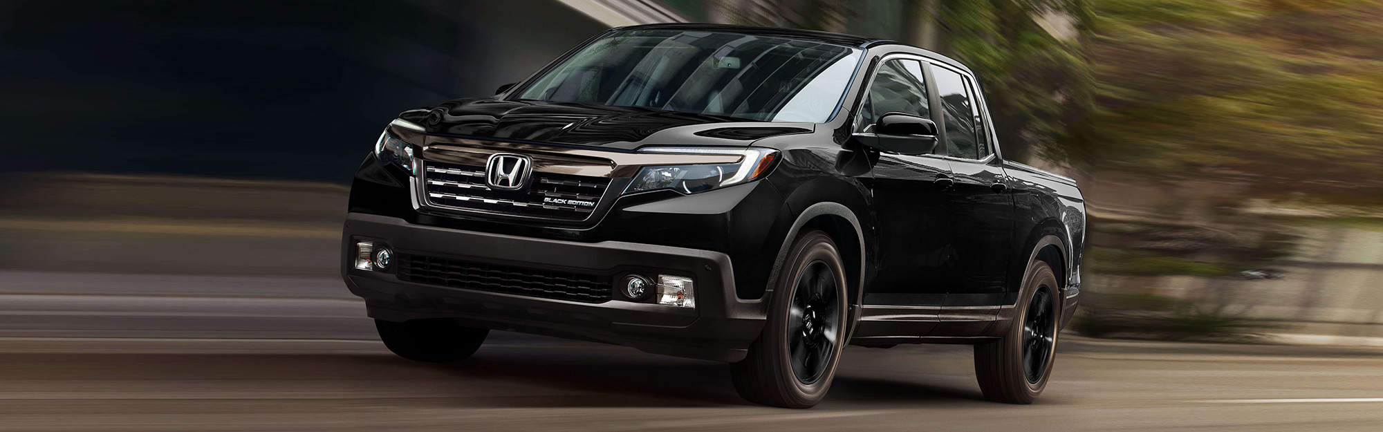 2019 honda ridgeline in black