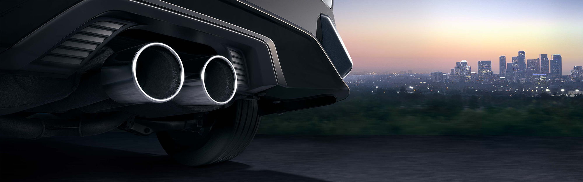 2019 Honda Civic Hatchback exhaust