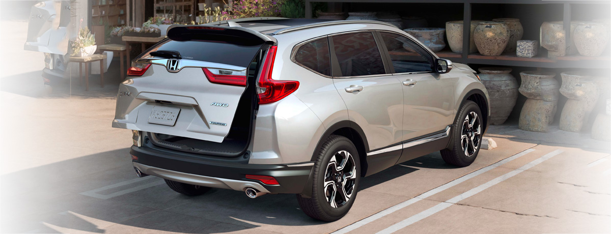 2019 honda cr-v, back hatch opening