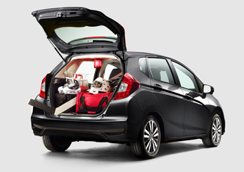 2019 Honda Fit storage capacity