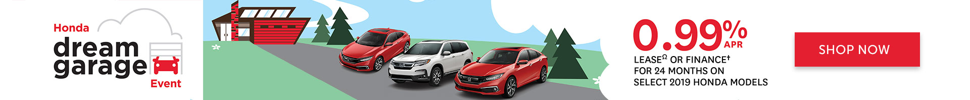 Honda March 2019 OEM Offer
