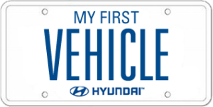 My first vehicle, Hyundai