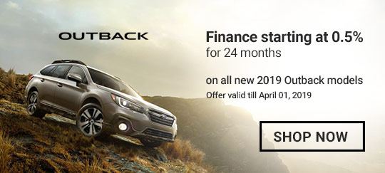 Subaru March 2019 OEM Offer