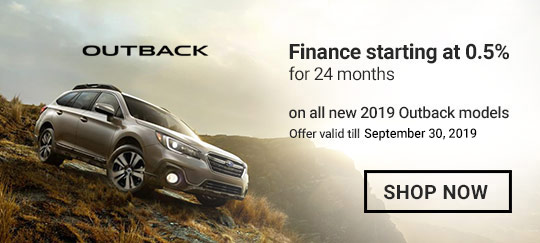 Subaru September 2019 OEM Offer