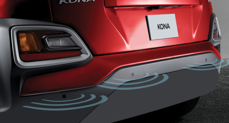 Safety is a top priority in the 2018 Kona