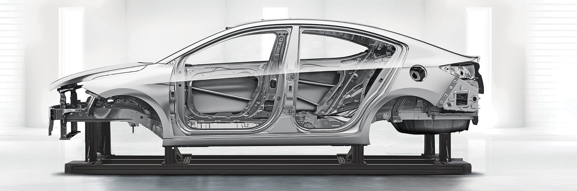 SUPERSTRUCTURE core of the Hyundai Elantra