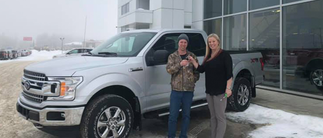 New Ford truck owner