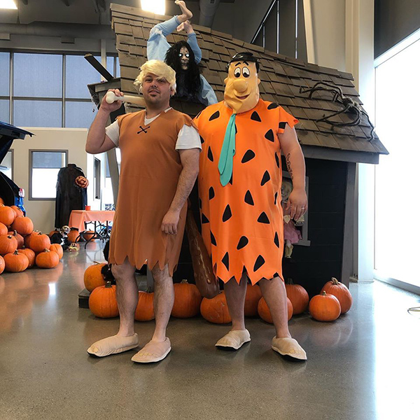 Barney And Fred Halloween