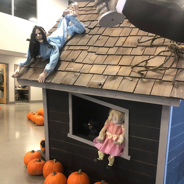 Detailed Halloween Decorations