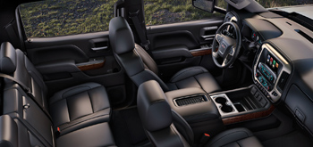 2017 Sierra Comfort and Safety