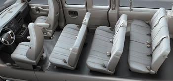 gmc-savana-seating