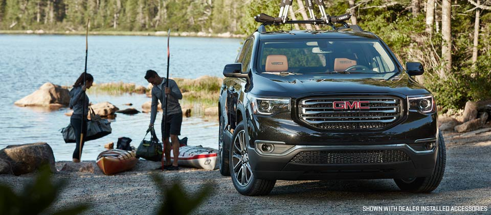 Outfit your 2019 GMC Acadia with a number of optional features