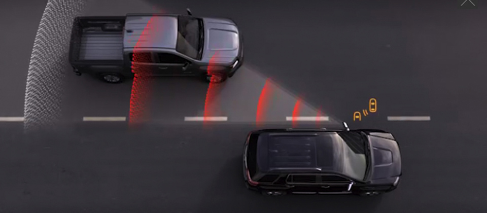The 2019 GMC Acadia features many innovative safety systems