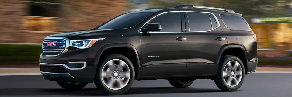 The stylish 2019 GMC Acadia