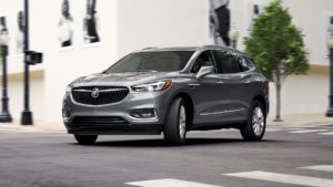 A 2019 Buick Enclave masters the city streets