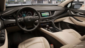 The stylish interior of the 2019 Buick Enclave