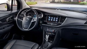 The luxurious interior of the 2019 Buick Encore
