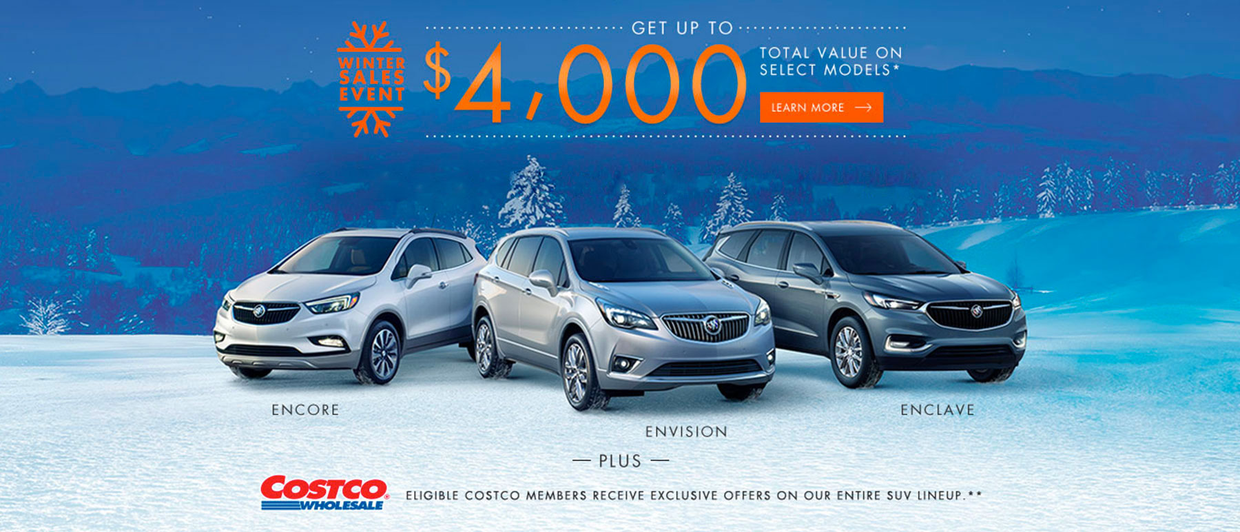 Buick March 2019 Winter Sales Event