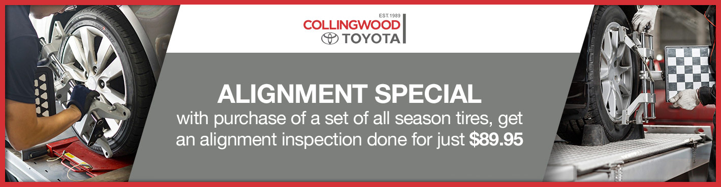 Tire Alignment Offer