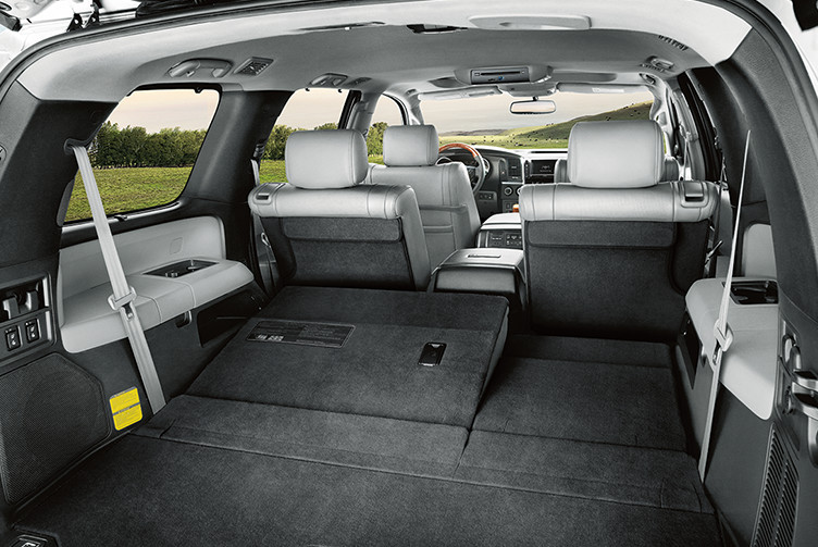 Toyota 2019 Sequoia Features Design Interior Cargo L Collingwood