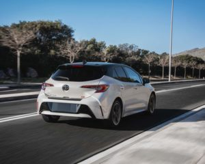 Toyota 2020 Corolla Hatchback Xse Blizzard Pearl Black Roof L