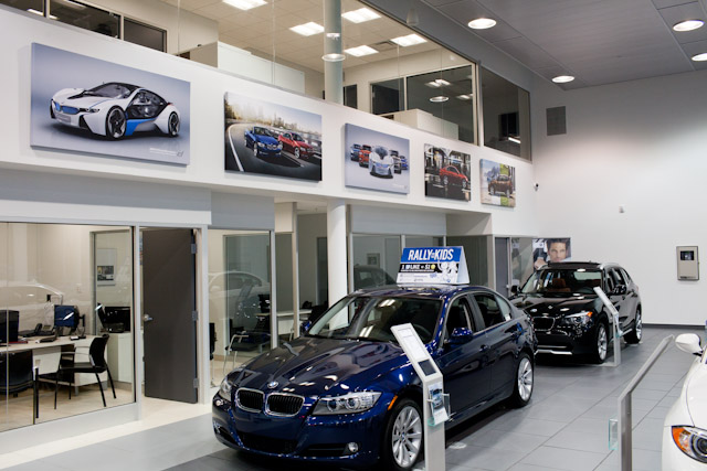 Vehicle Showroom at BMW St. John's