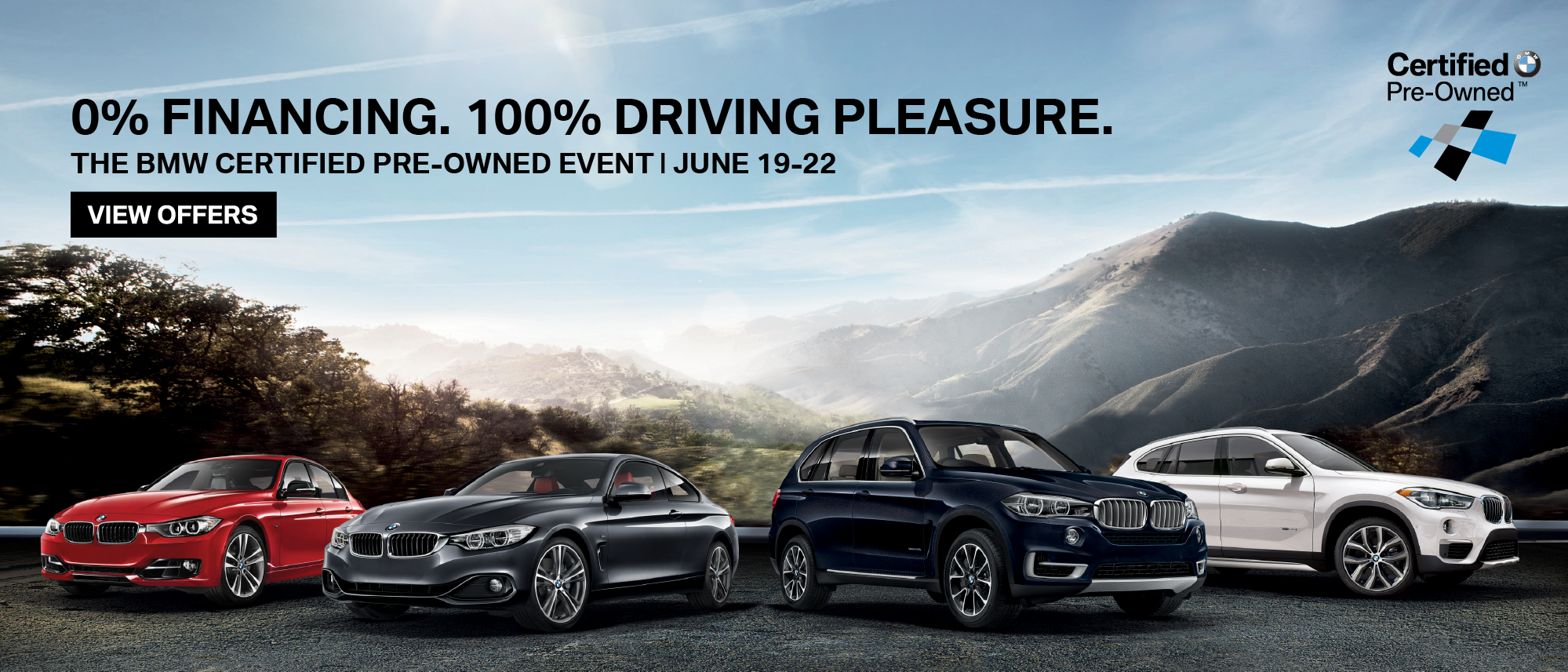 BMW Pre Owned >> Bmw 182 Preowned Sales Event Landing Page And Header Web