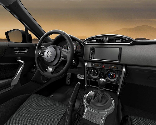 2017 Toyota 86 Interior Dashboard