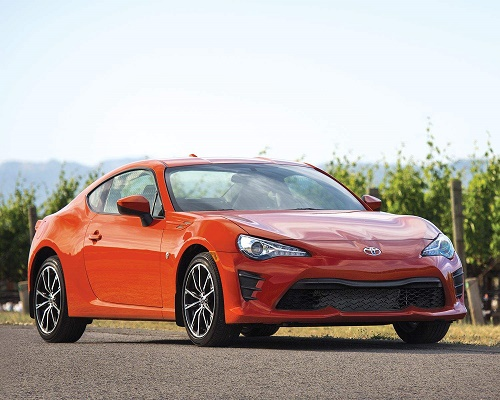 2017 Toyota 86 Exterior Front End