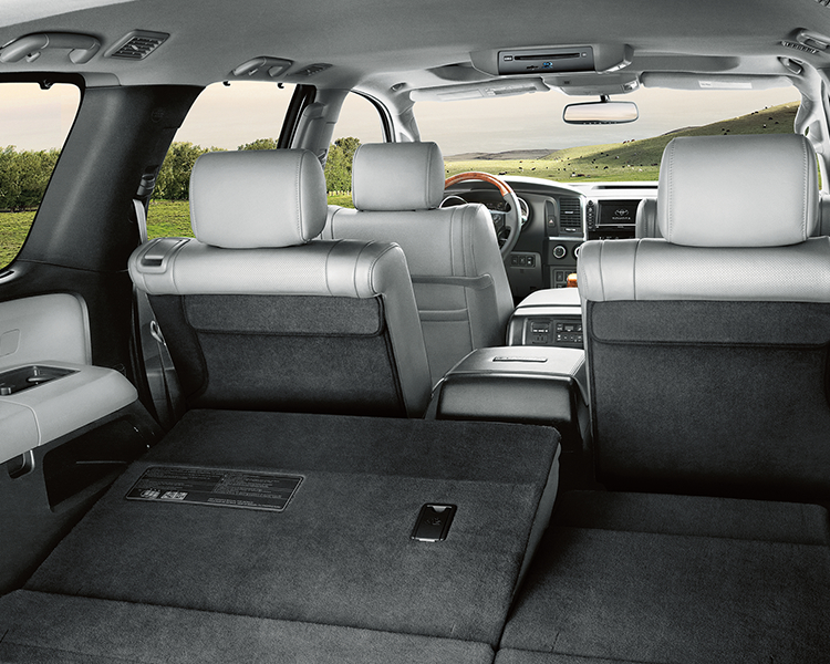2018 Toyota Sequoia Interior Seating