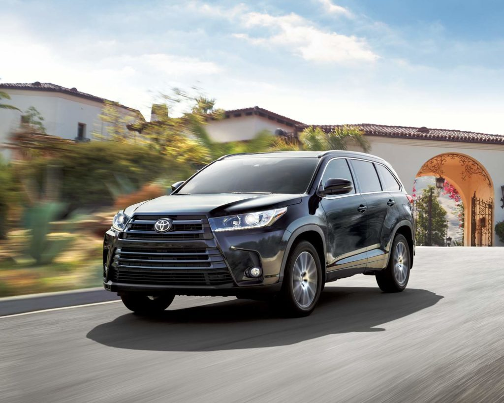 2018 Toyota Highlander Exterior Side View