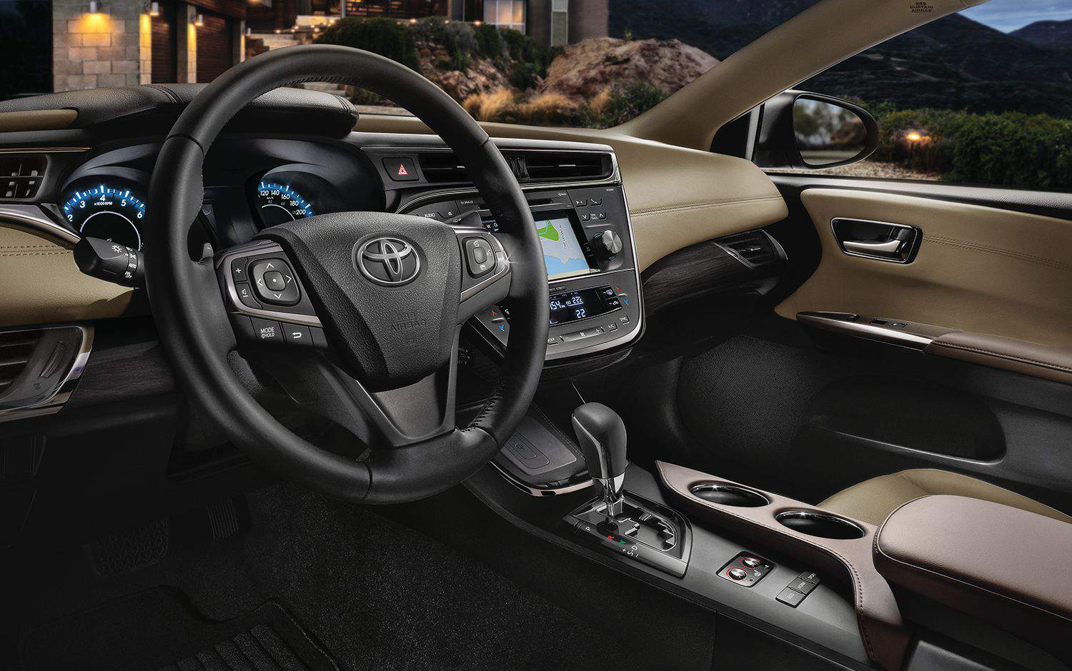 2018 Toyota Avalon Interior Dashboard