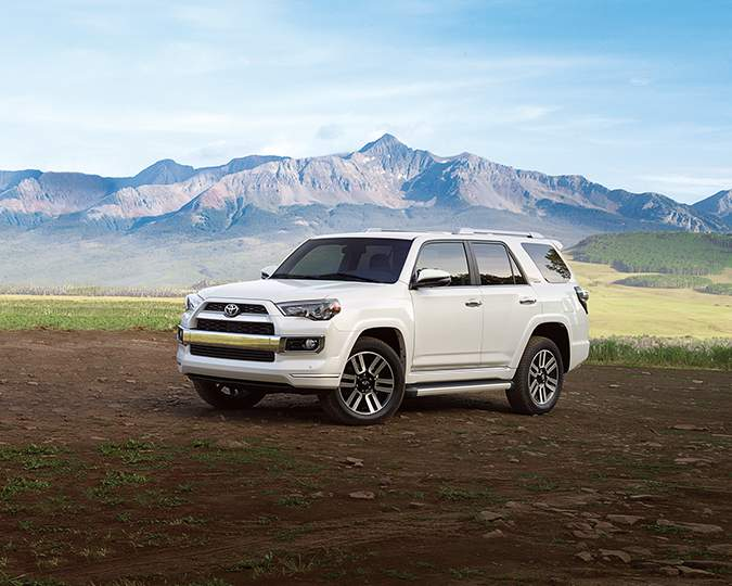 2018 Toyota 4Runner Limited Blizzard Pearl