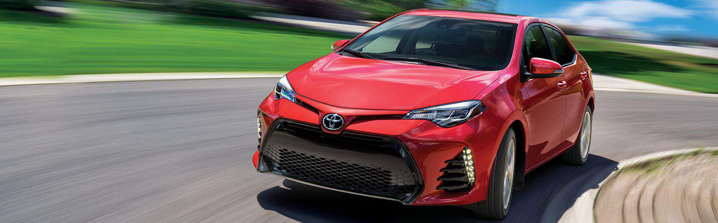 2018 Toyota Corolla model
