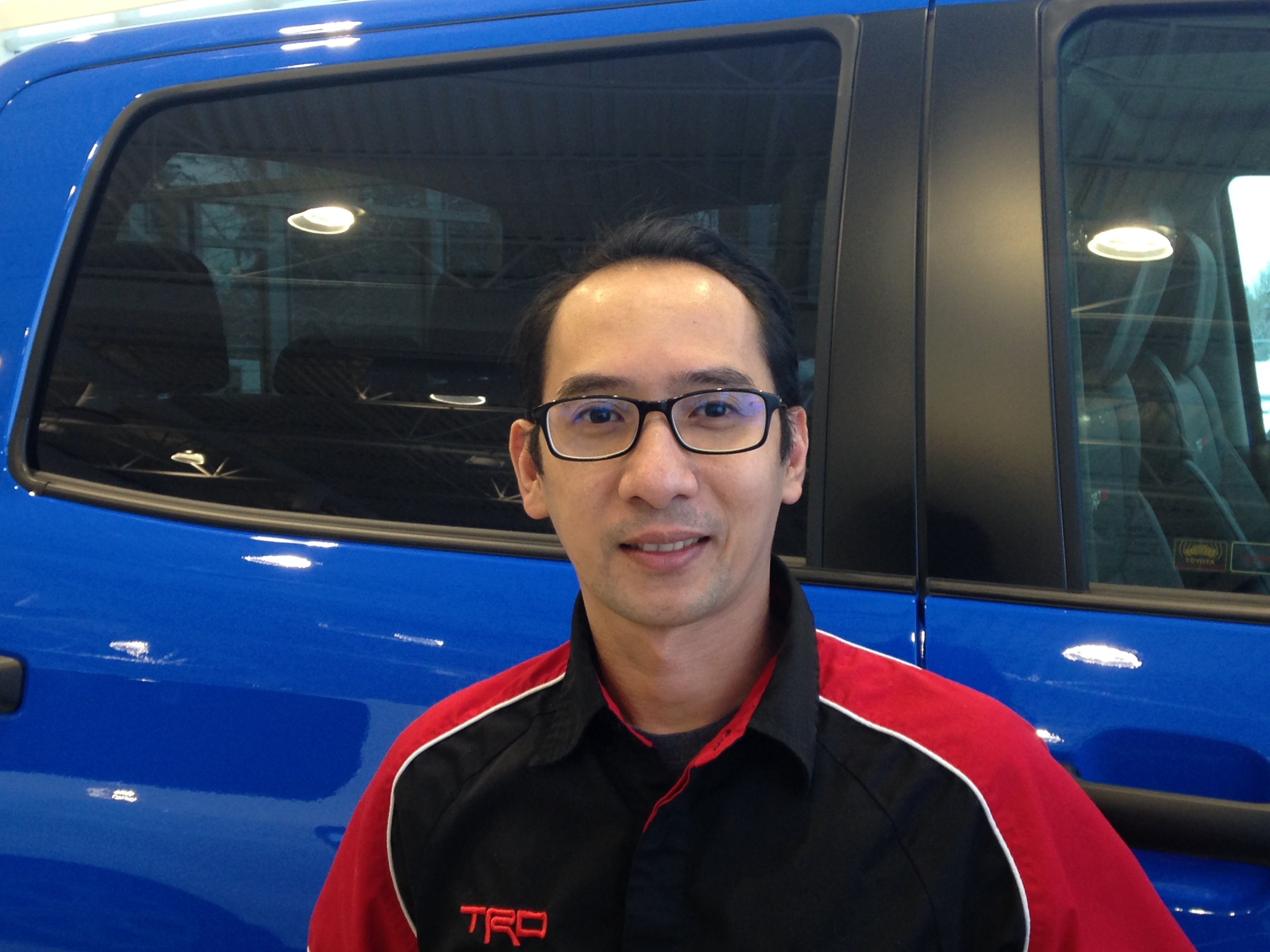 Sherwin Cervantes - Parts Manager