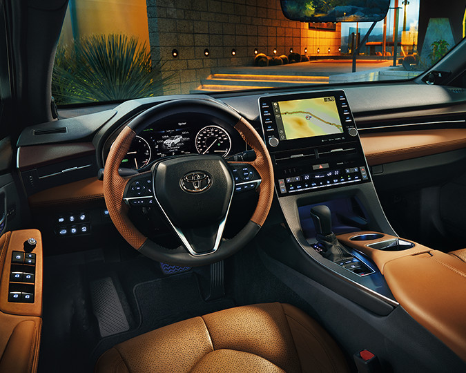 2019 Toyota Avalon Interior Dashboard