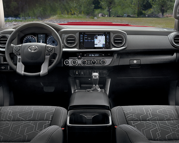 2019 Toyota Tacoma Interior Dashboard
