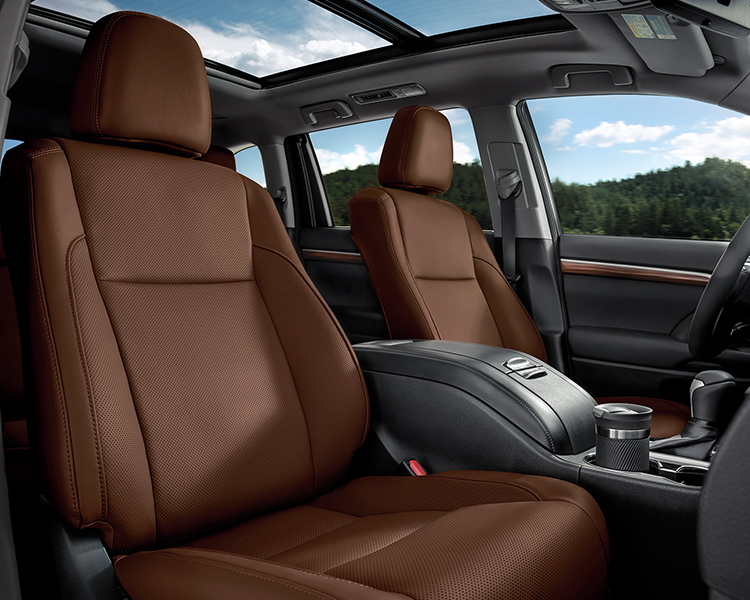 2019 Toyota Highlander Interior Seating