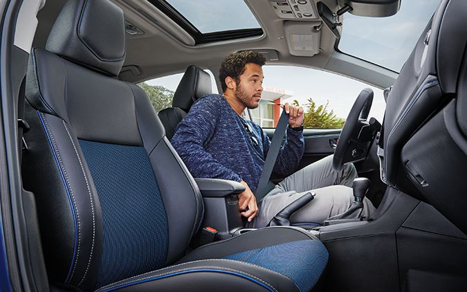 2019 Toyota Corolla Interior Seating