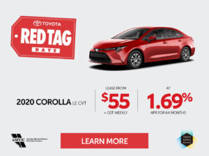 Red Tag Corolla October 2020 Mobile