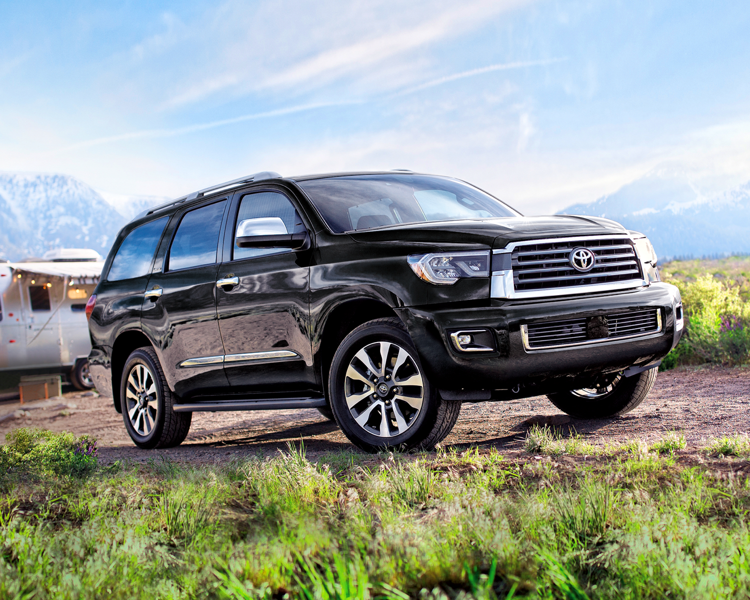 Toyota 2021 Sequoia Limited Midnight Black Metallic L