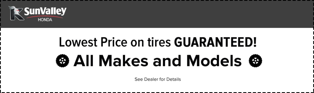 Lowest Prices for Tires