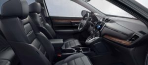 The stylish and comfortable interior of the 2019 Honda CR-V