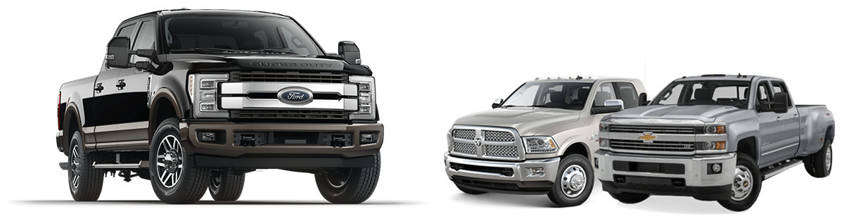 Ford Super Duty vs the competition