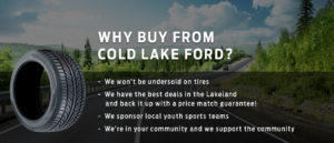 Why buy from Cold Lake Ford?