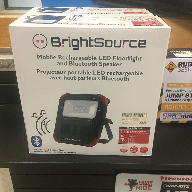 Floodlightwbluetooth