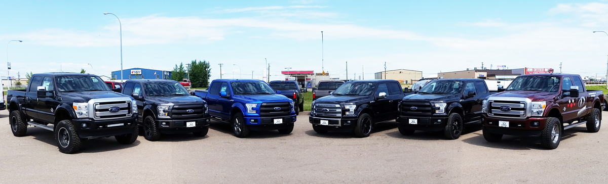Custom vehicles at Ducharme Motors